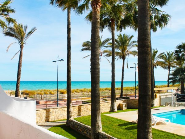Vistas Playa Peñiscola Primera Planta